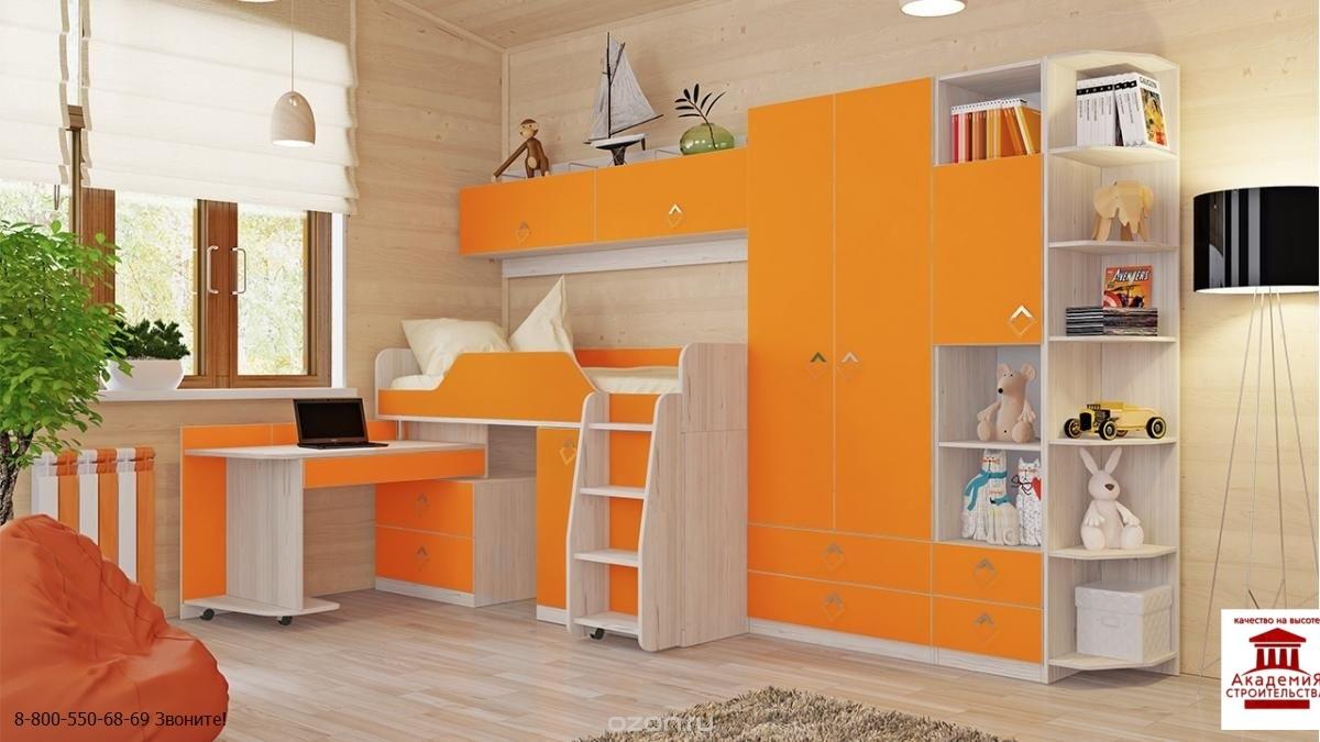 Купить детскую мебель - мебель для детской комнаты.