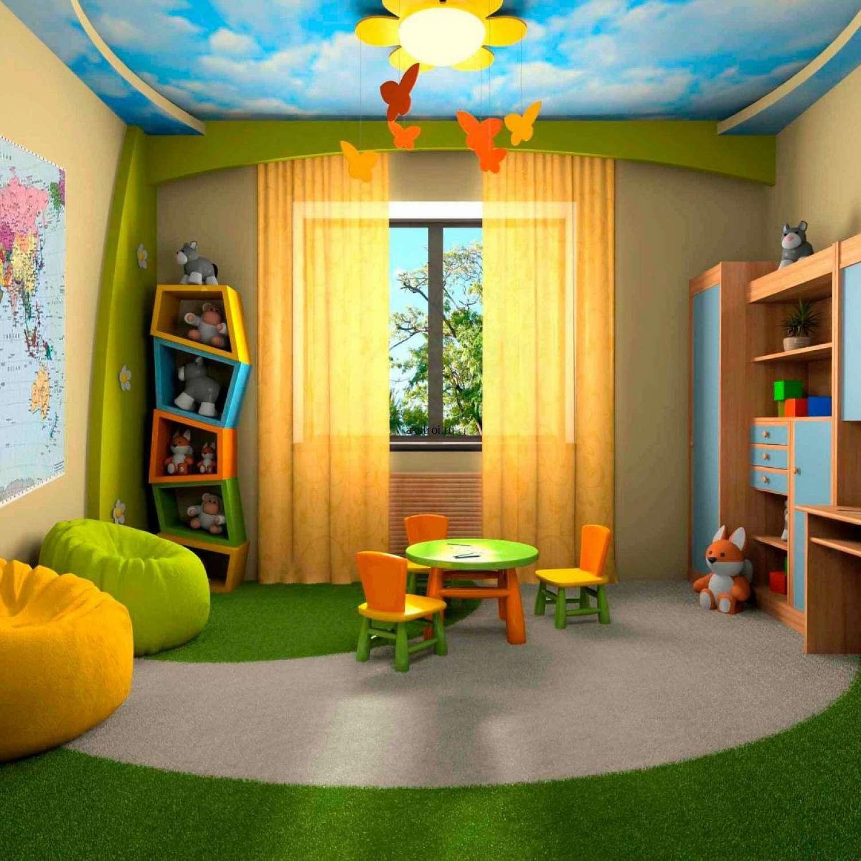 Звездный потолок в детской.