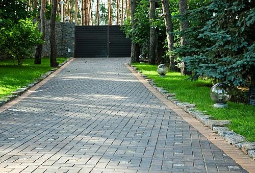 Дороги на участке дизайн